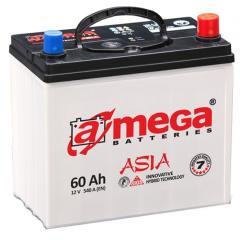 Автомобильный аккумулятор A-Mega Asia M7 6Ct-95-A3