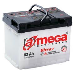 Автомобильный аккумулятор A-Mega Ultra+M7+6Ct-77-A3