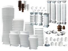 Изоляторы высоковольтные для ЛЭП, трансформаторных