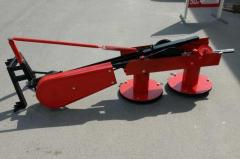 The mower rotor KR-105 Thorn for minitractors (105