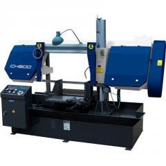 The Lentochnopilny machine on ZENITECH CH500 metal