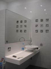Зеркала влагостойкие для ванных комнат - Вишневое,