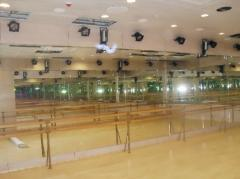 Mirrors for sports clubs, mirrors for dances.