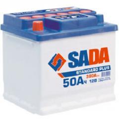 Аккумулятор 6СТ-50 Ач SADA Standard Plus