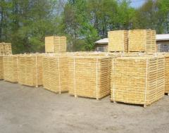 Production of pallet preparation.