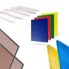Поликарбонат (Листовые пластики)