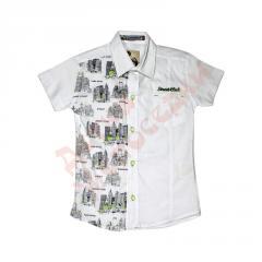 Polo shirt with short sleeve