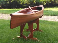 Модель деревянной лодки. Wooden Boat & Ship Toy Models
