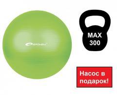 Спортивный мяч, мяч для фитбола Spokey Fitball ll салатовый 55 см