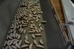 Klasik kraker üretimi hattı