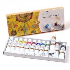 Набор масляных красок Сонет 12х10мл