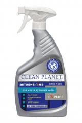 Активная пена серии EXPERT TM Clean Planet  - для мытья душевых кабин