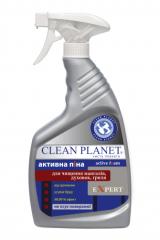 Активная пена серии EXPERT TM Clean Planet  - для чистки мангалов, духовок, гриля