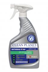 Активная пена серии EXPERT TM Clean Planet  - для мытья жирных поверхностей.