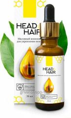 Масляной комплекс для укрепления волос Head&Hair Хед енд Хейр