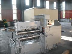 Equipment for production of metal barrels