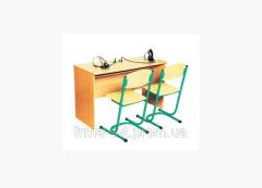 Столы для лингафонного кабинета