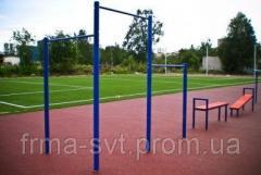 Обладнання і спорядження для відкритих спортивних майданчиків
