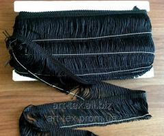 Бахрома 5 см черная