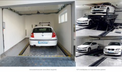 Автоматическая 4-уровневая парковочная система