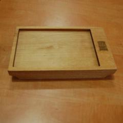 Деревянная доска для подачи блюд, 250*150*40 мм