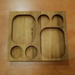 Деревянная доска для подачи блюд, 290*250*40 мм