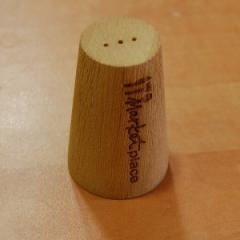 Деревянная емкость для соли и перца, 55 мм