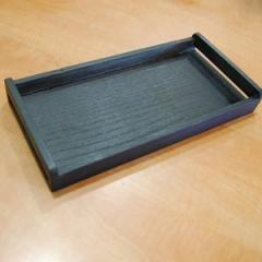 Деревянный прямоугольный поднос, 300*150*30 мм