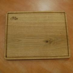 Деревянная доска для подачи блюд, 390*300*25 мм