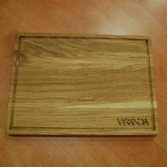 Деревянная доска для подачи блюд, 320*230*20 мм
