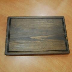 Прямоугольная деревянная доска для подачи блюд, 300*200*20 мм