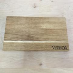Деревянная доска для подачи блюд, 350*250 мм