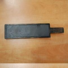 Доска для подачи со сланцем, 380*100*22 мм, ольха брошировання эффект старения