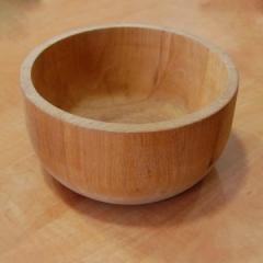 Деревянная пиала, 175*90 мм, ольха