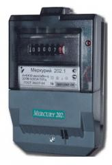 Electric power meters Mercury