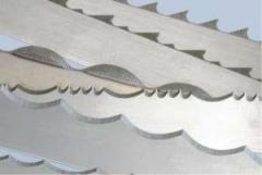 Saws tape food of stainless steel