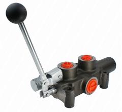 Гидрораспределитель 1 секционный 80L с ускорителем для дровокола
