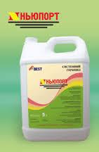 Гербицид Ньюпорт (аналог Миура) - хизалофоп-П-этил 125 г/л, для сахарной свеклы, подсолнечника, сои и рапса