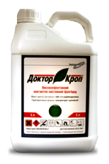 Фунгицид / фунгіцид Доктор Кроп (Дерозал) карбендазим 500 г/л, для пшеници, свеклы, рапса, подсолнечника