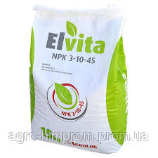 Elvita NPK 3-10-45 - Эльвита / Ельвіта комплесне водорозчинне добриво