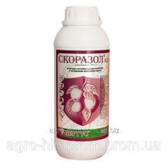 Фунгицид Скоразол (Скор 250; Линкор) дифеноконазол 250 г/л, груша, картофель, персик, томаты, яблоня