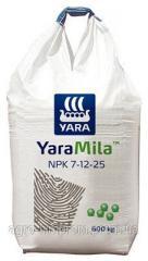 Удобрение Yara Mila 7-12-25 Яра Міла / Мила 7-12-25