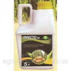 Инсектицид Престо клотиниадин 200 г/л + лямбда-цигалотрин 50 г/л, пшеница, картошка, овощные, плодовые