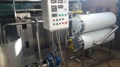 Equipment for milk processing and production of dairy products