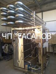 Pasteurizer OKL-10 cooler