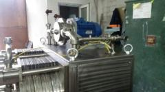 Equipment for the production of fat and oil products
