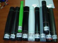 Пластиковые прутки, стержни,прутики, электроды для