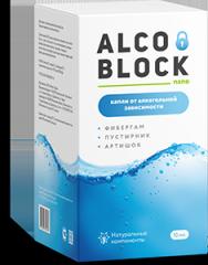 Капли от алкоголизма Alco Block nano Алко...
