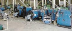 Waste recycling plant with processing of sorting