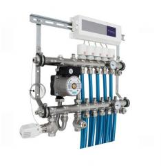 Коллектор водяного теплого пола Danfoss 2-12...